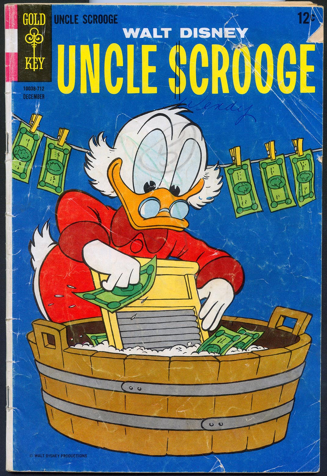 Uncle Scrooge (Gold Key) 72 -G