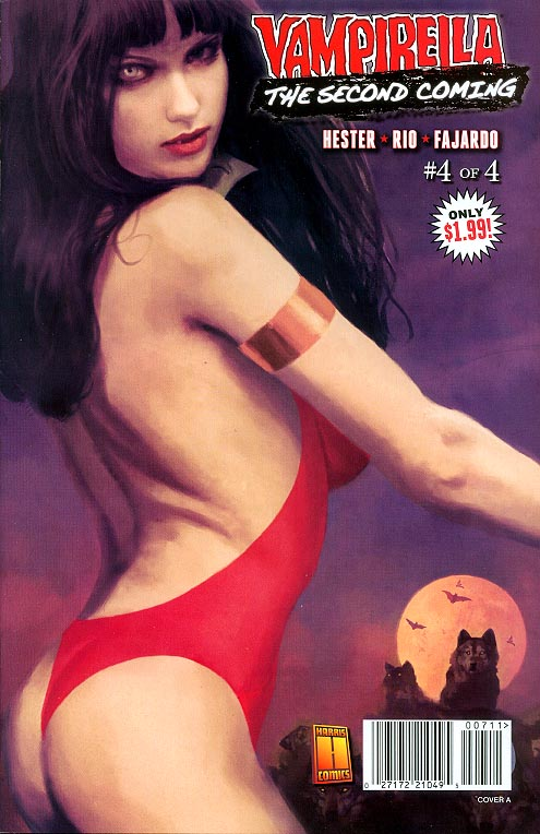 Vampirella The Second Coming 4 A (of 4 )