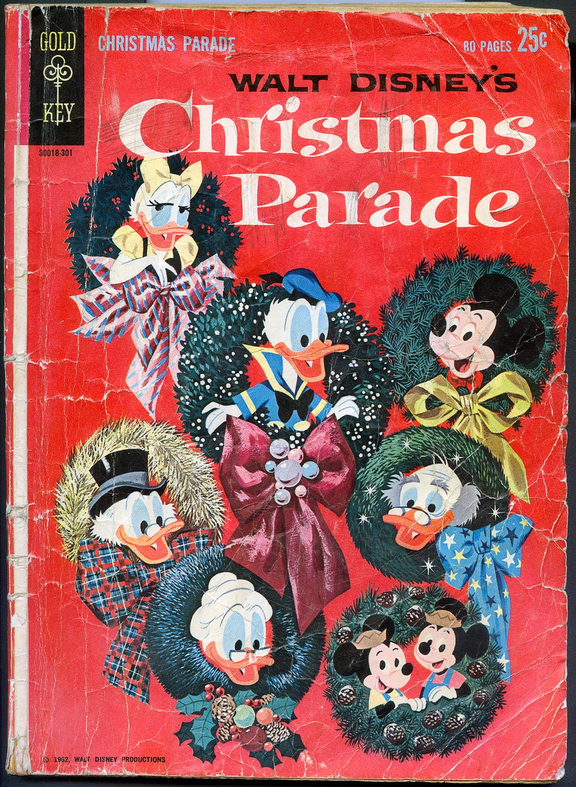 Walt Disneys Christmas Parade (Gold Key) 1 (missing 4 pages) -FR