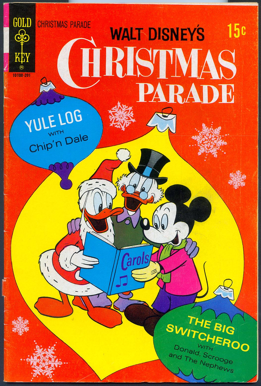Walt Disneys Christmas Parade (Gold Key) 9 -F