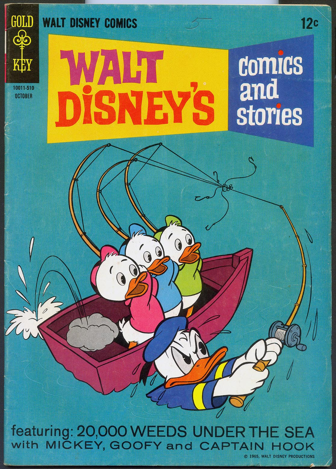 Walt Disneys Comics and Stories (Gold Key) 301 (Also Vol 26 - 1 ) -VG
