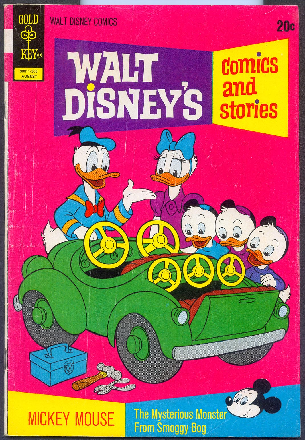 Walt Disneys Comics and Stories (Gold Key) 383 (Also Vol 32 - 11 ) -VG