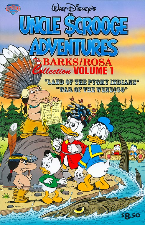 Walt Disneys Uncle Scrooge Adventures The Barks Rosa Collection 1