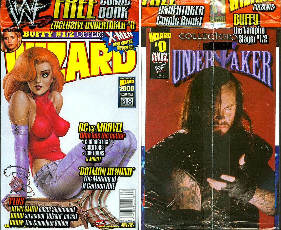 Wizard Magazine 92 (Cover 3 of 3 ) (Front & Back Covers)