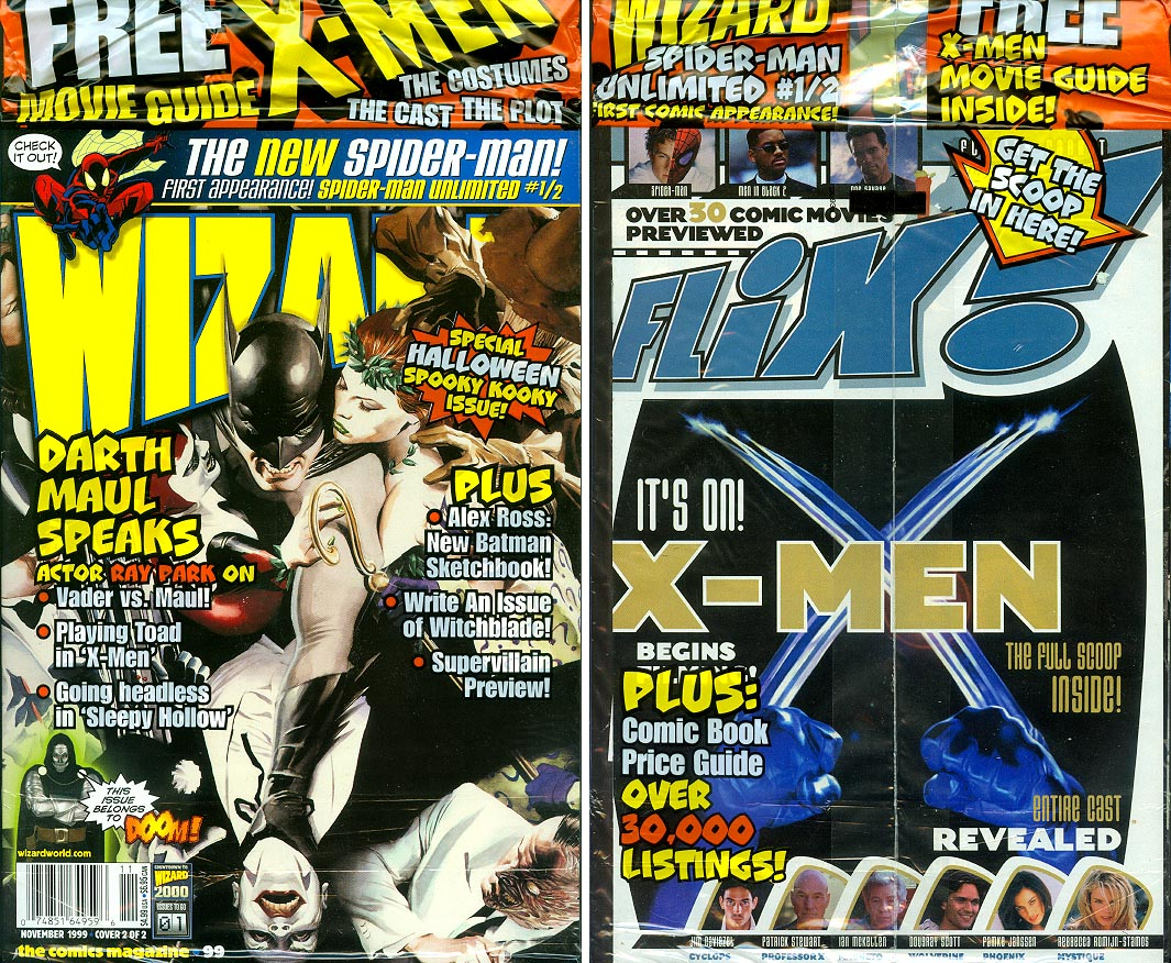 Wizard Magazine 99 (Cover 2 of 2 ) (Front & Back Covers)