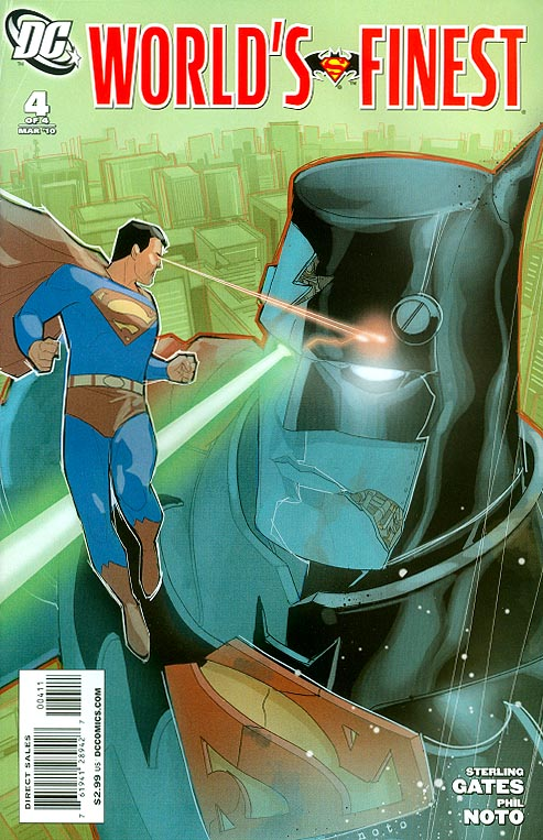 Worlds Finest ( 2010 ) 4 (of 4 )