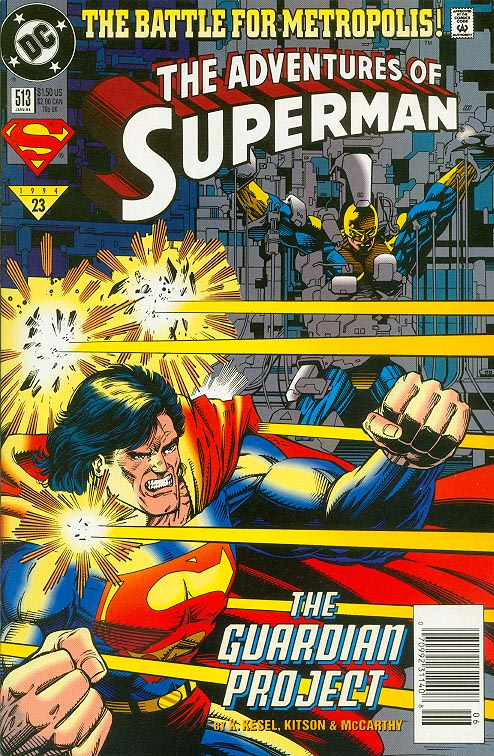 Adventures Of Superman 513 --VFNM