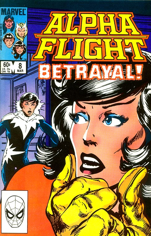 Alpha Flight vol 1 - 8