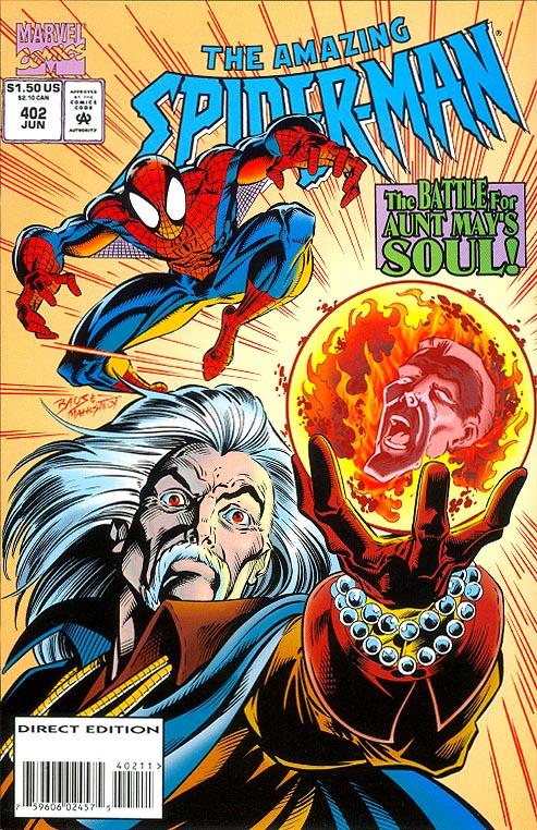 No.405 // 1995 J.M The Amazing Spider-Man Vol.1 DeMatteis /& Darick Robertson