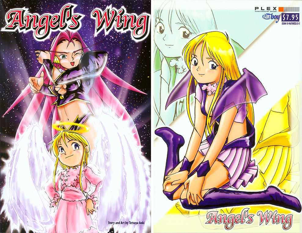Angels Wing 1 (Front & Back Covers)