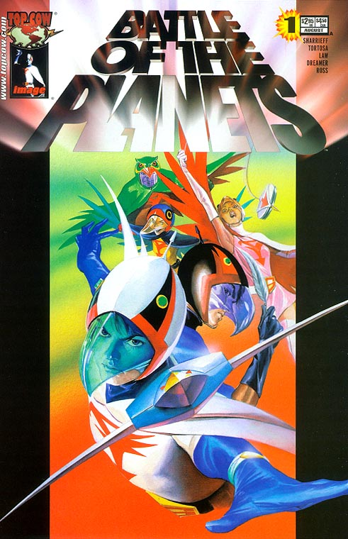 Battle Of The Planets (Image) 1 (Alex Ross Cover)