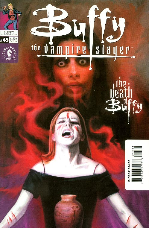 Buffy The Vampire Slayer 45 (Art Cvr)