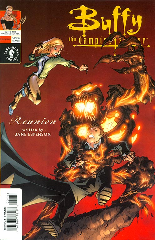 Buffy The Vampire Slayer Reunion Art Cvr