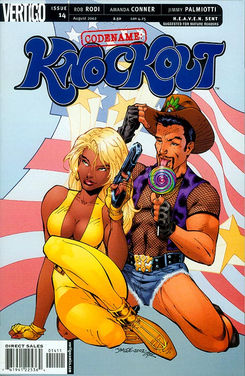 Codename Knockout 14 (Jim Lee Cover)
