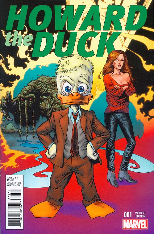 Howard The Duck vol 5 - 1 ( 1 in 25 Val Mayerik Variant)