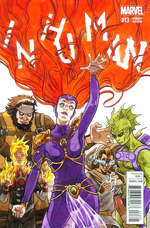 Inhuman 13 (Jill Thompson Women Of Marvel Variant)