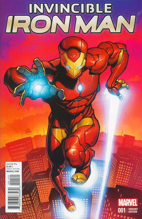 Invincible Iron Man vol 3 - 1 (Ryan Stegman Young Guns Part of 6 Variant Set)