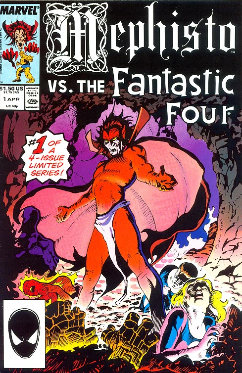Mephisto Vs The Fantastic Four 1 -VF