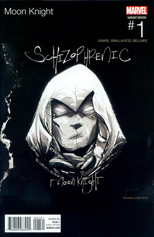 Moon Knight vol 8 - 1 (Ricardo Lopez Ortiz Hip Hop Variant)