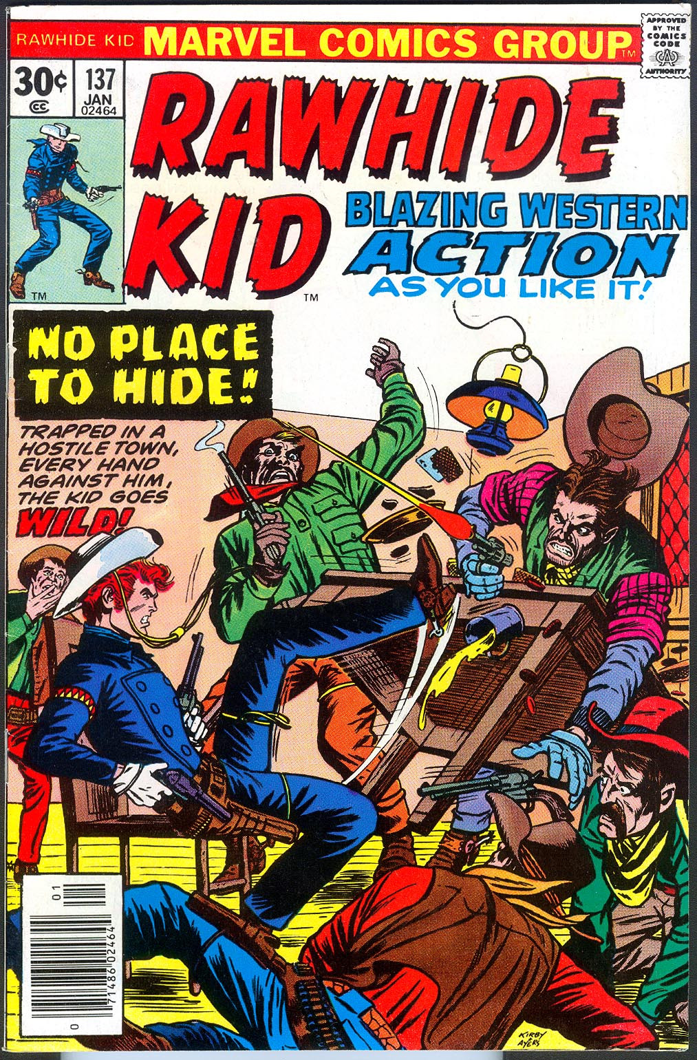 Rawhide Kid 137 -VF