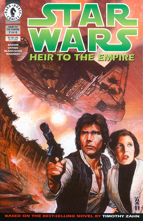 Star Wars Heir To The Empire 2 (of 6 )