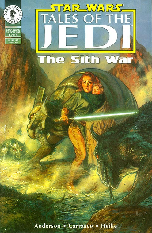 Star Wars Tales Of The Jedi The Sith War 4 (of 6 ) -VFNM