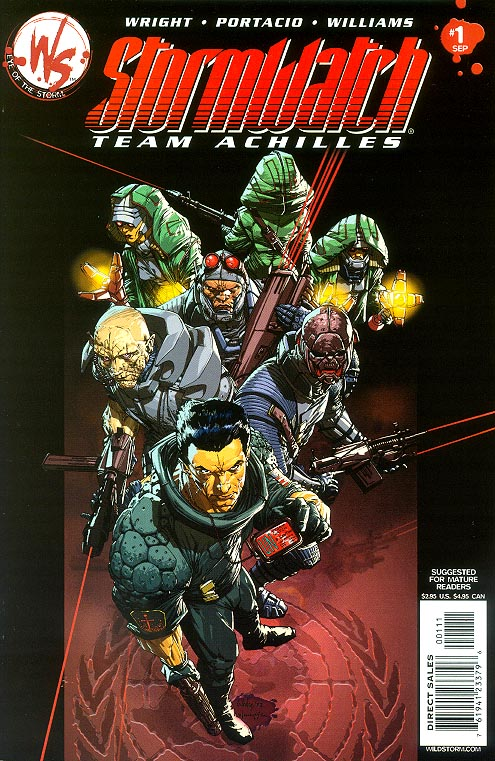 Stormwatch Team Achilles 1 (Whilce Portacio Cover)