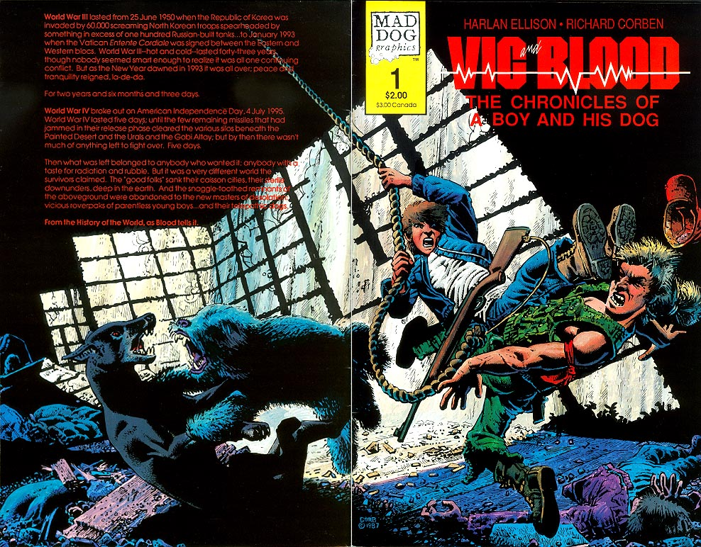 Vic Blood 1 (Wraparound Cover) -VF
