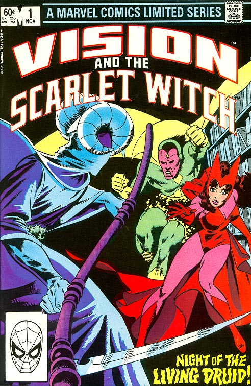 Vision And The Scarlet Witch 1