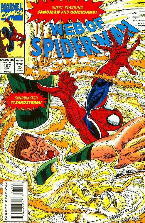Web Of Spider-Man 107