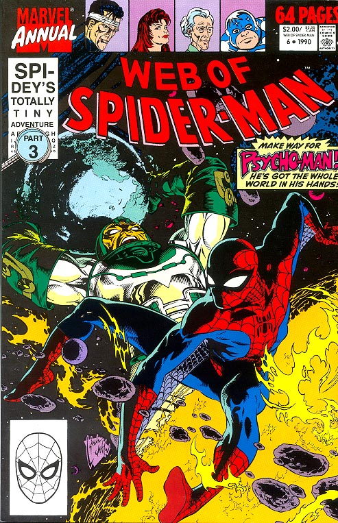 Web Of Spider-Man Annual 6 -VFNM