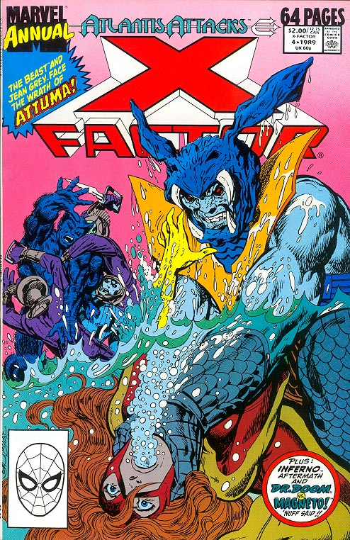 X-Factor Annual 4 (Direct Ed)