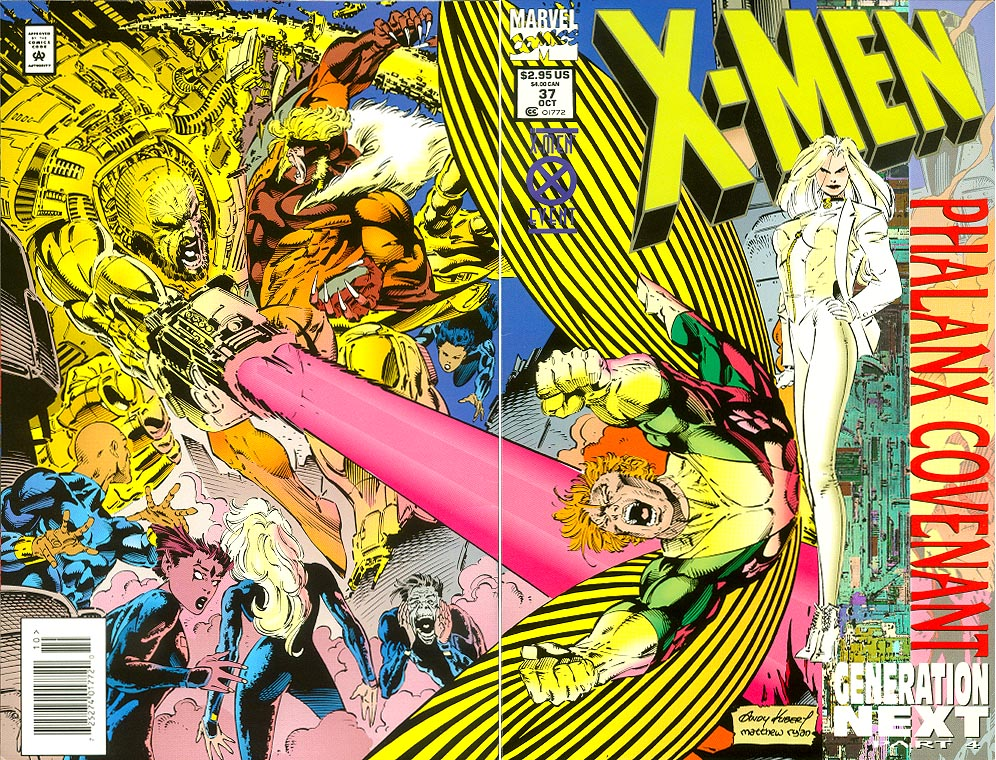 X-Men 37 (Wrap Prismatic Foil Cvr) -VF