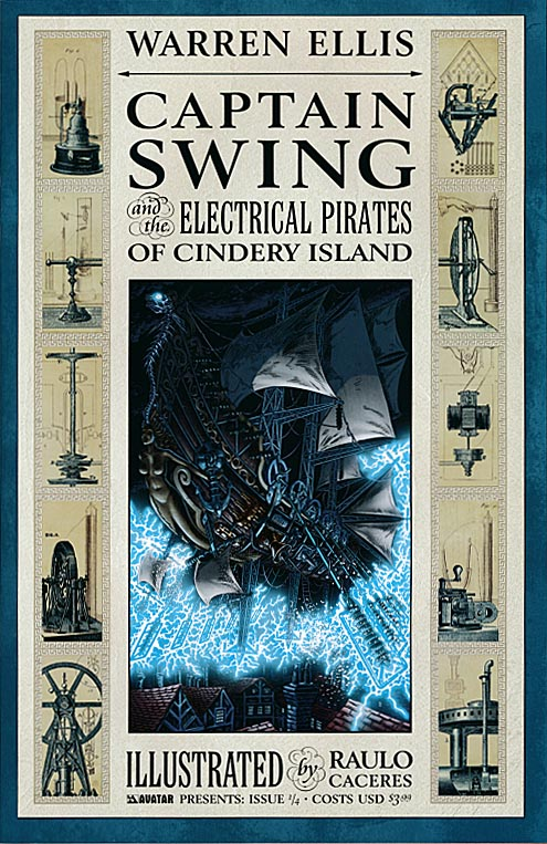 Captain Swing and the Electrical Pirates of Cindery Island 1