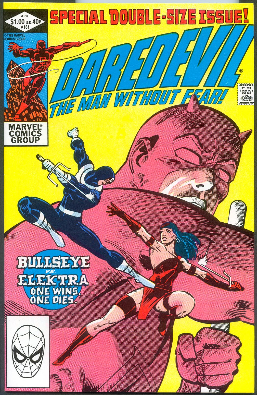 Daredevil 181 (Direct Ed)