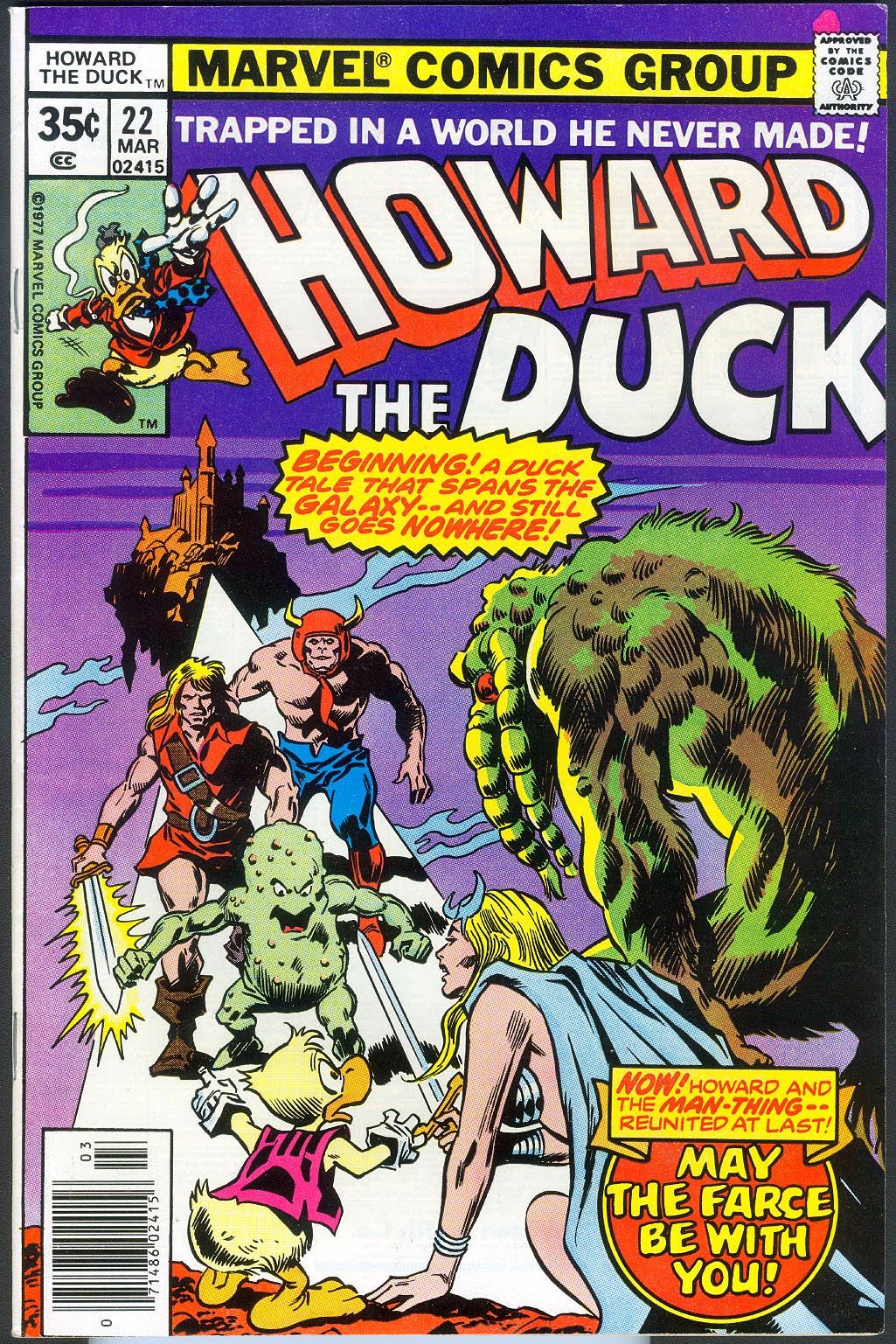 Howard The Duck 22 -NM