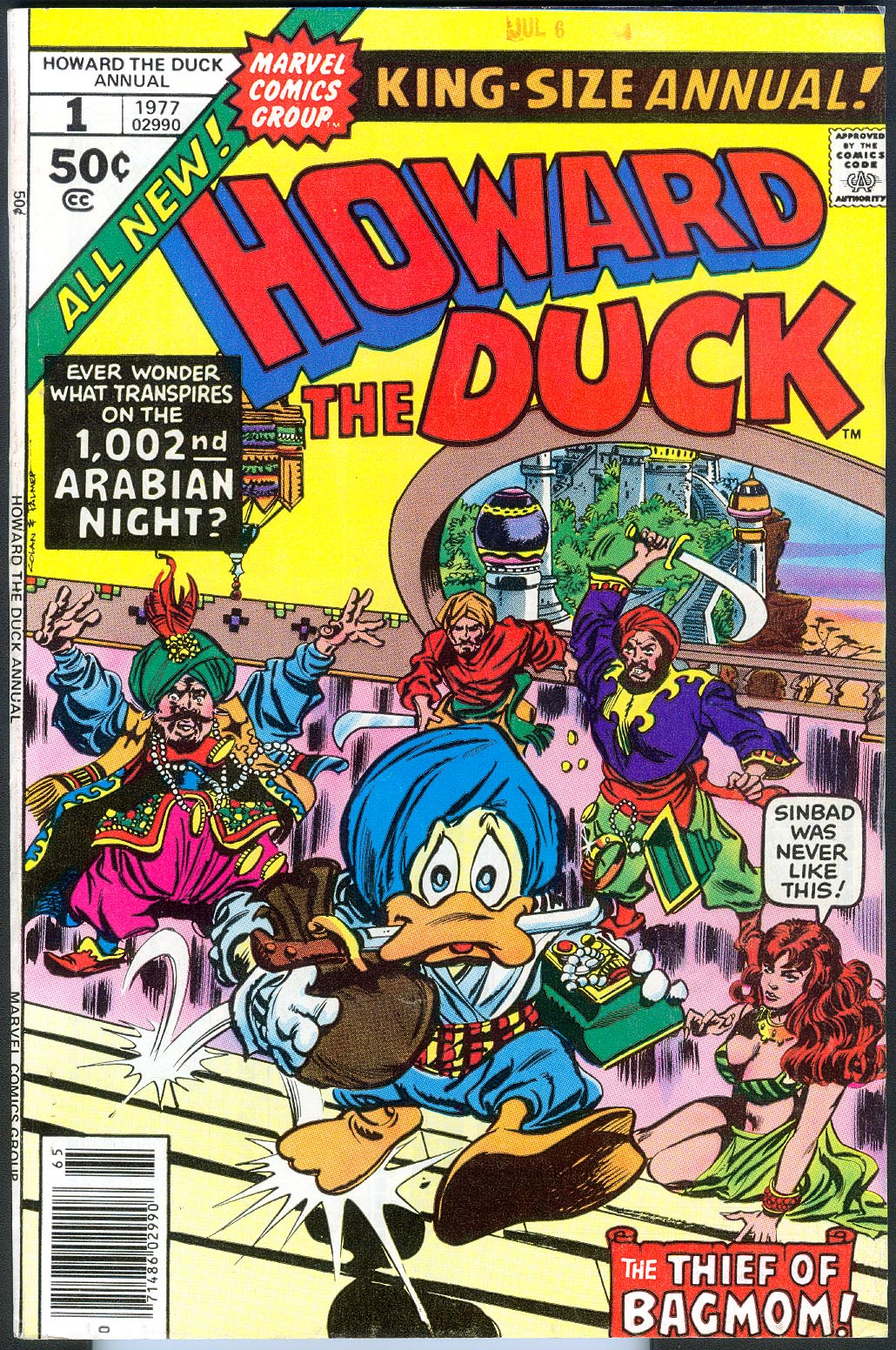 Howard The Duck Annual 1 (Newstand Ed) -VF