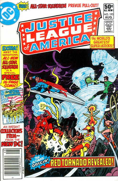 Justice League Of America 193 (Newstand)