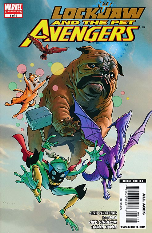 Lockjaw and the Pet Avengers 1 (of 4 )