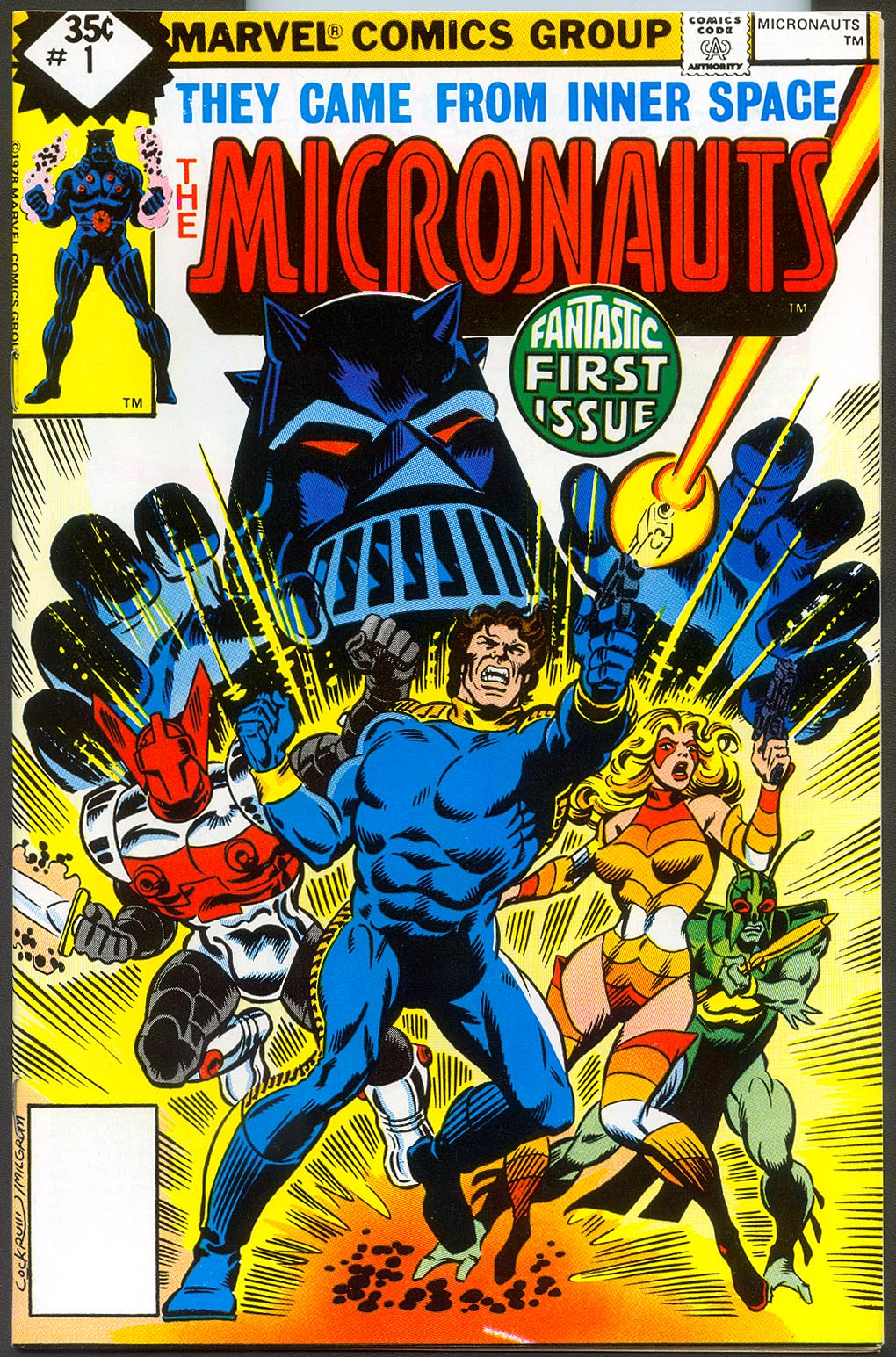Micronauts (Marvel Vol 1 ) 1 --NM