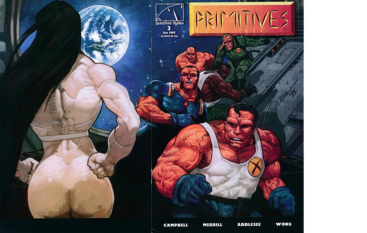 Primitives 3 (Wraparound Cover) -VFNM