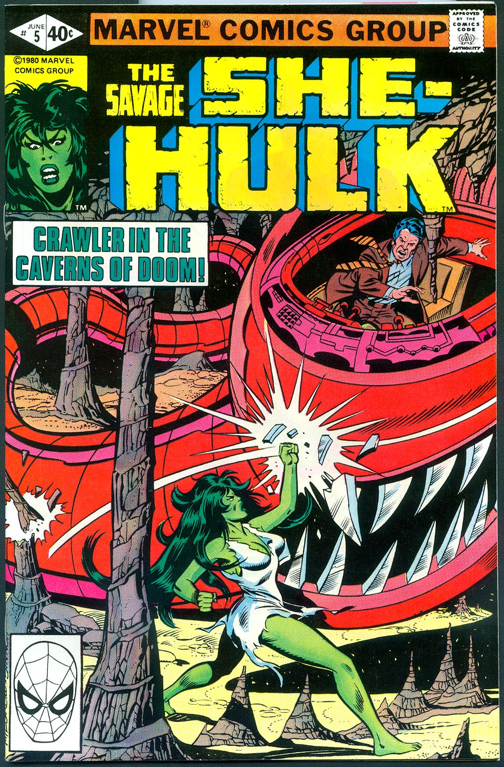 Savage She-Hulk vol 1 - 5 -NM