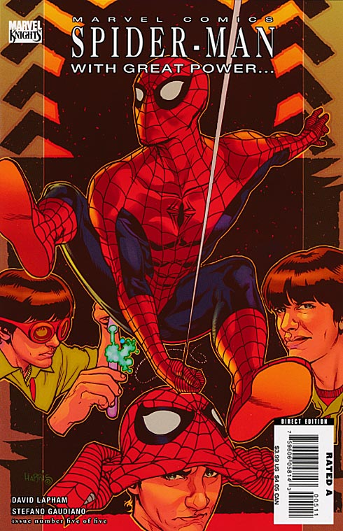 Spider-Man With Great Power 5 (of 5 )