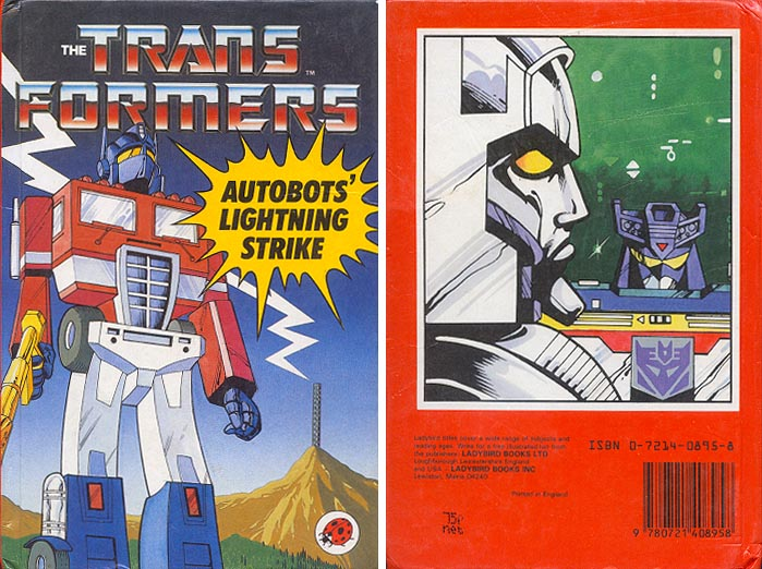 Transformers Autobots Lightning Strike HC ( 1986 )