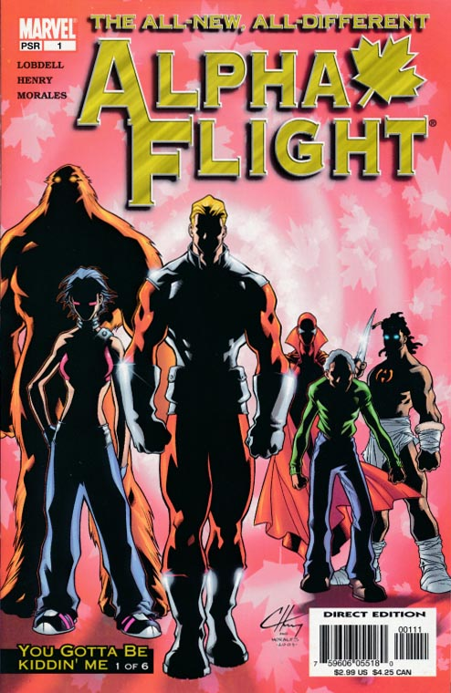 Alpha Flight vol 3 - 1