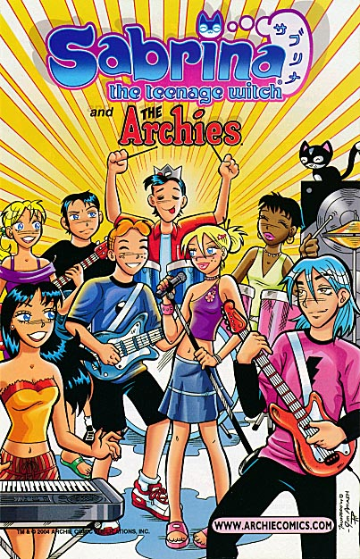 Archie Halloween Ashcan 2004 Sabrina The Teenage Witch And The Archies