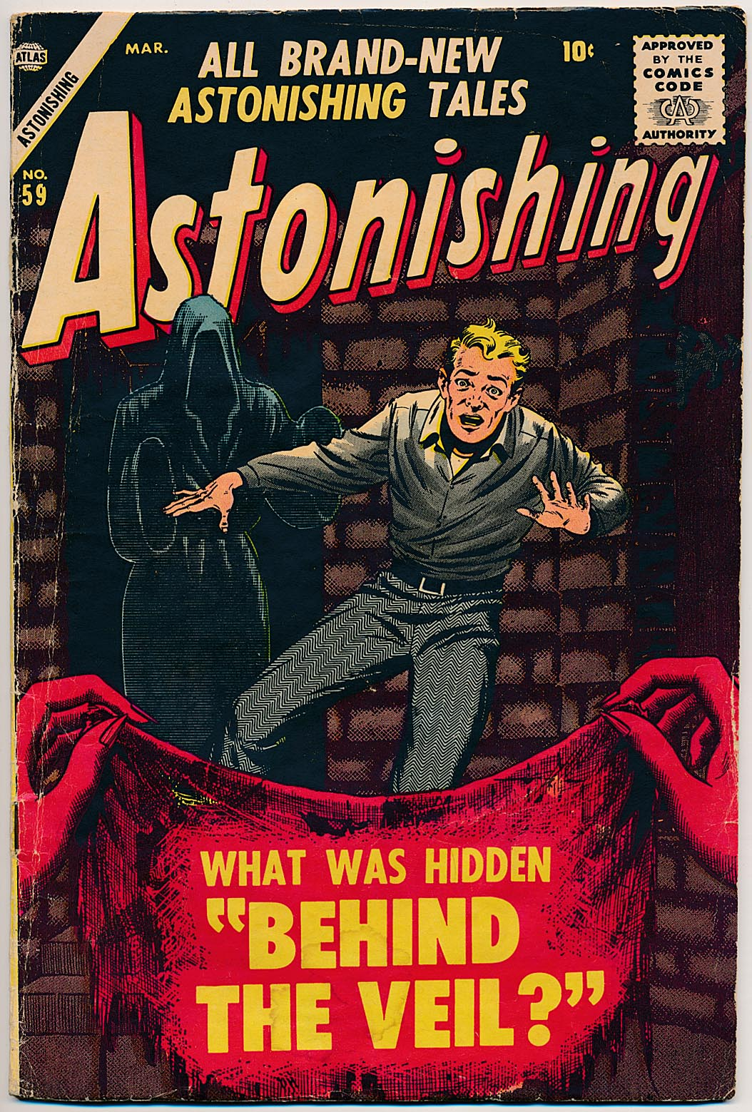 Astonishing (Atlas) 59 -VG