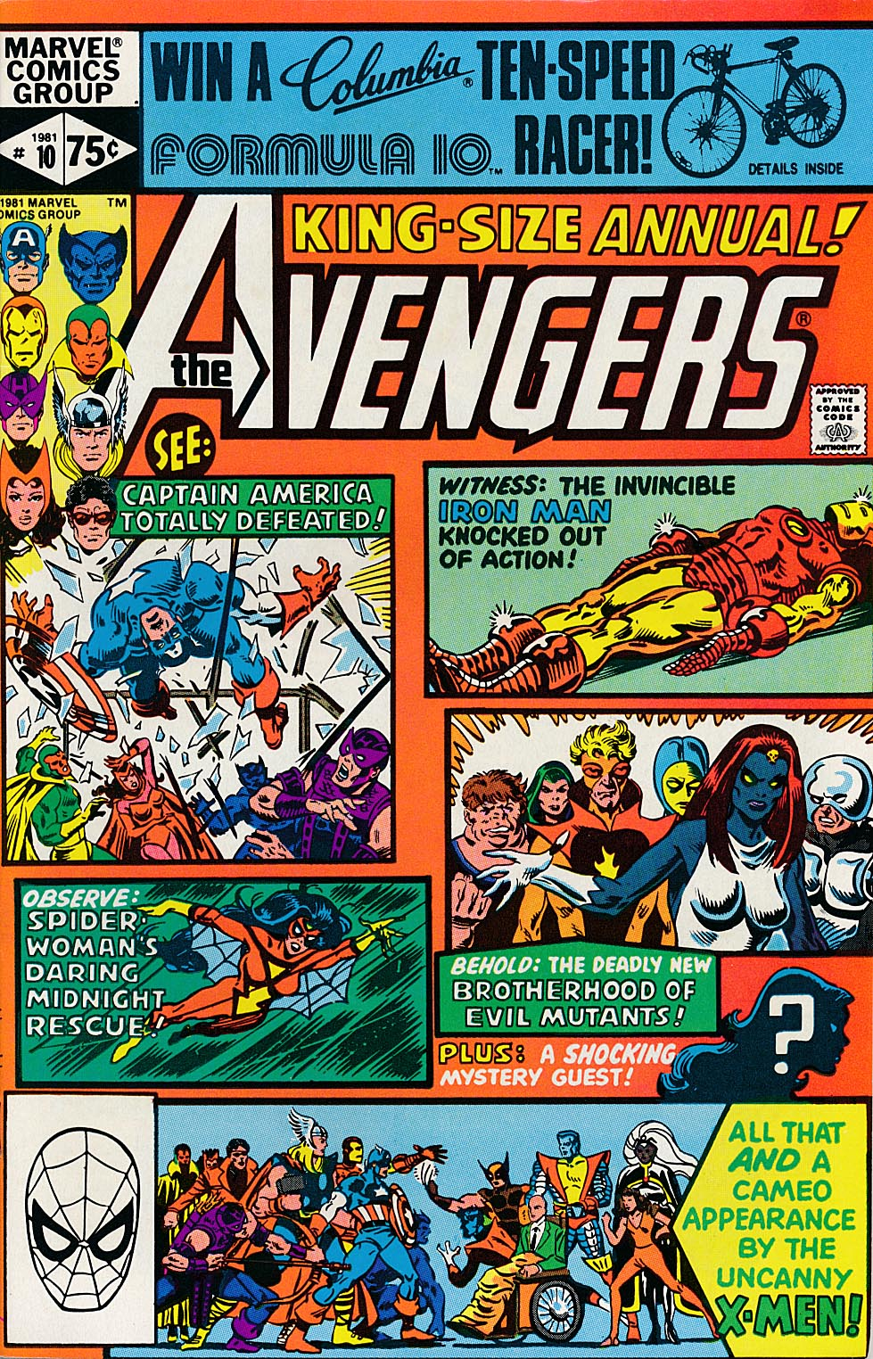 Avengers King-Size Annual 10 -NM