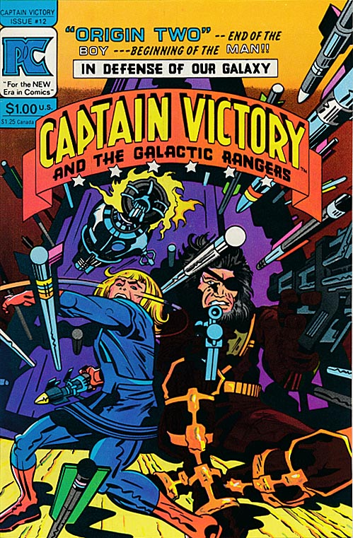 Captain Victory and the Galactic Rangers 12 -VFNM