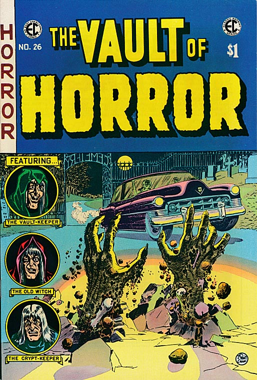 EC Classic Reprint 7 (Vault Of Horror 26 ) -VF